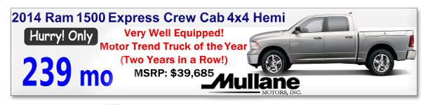Mullane Motors Deals
